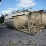 400bbl Stationary Dust Silo 2