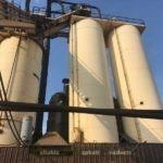 (2) Dillman 200-ton Silos