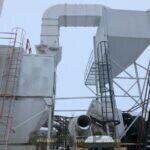 Aeropulse 70,000 CFM Baghouse Reliable Asphalt Products (6)
