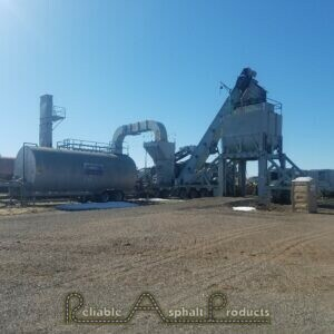 Cedarapids POortable 200-tph Parallel Flow Drum Plant Reliable Asphalt (1)
