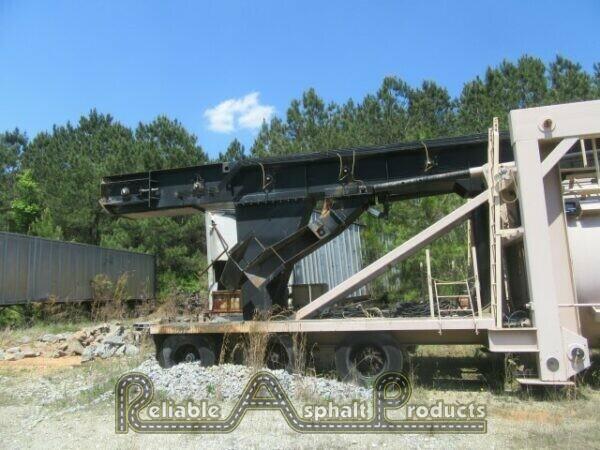 2013 Almix Self-Erect Silo w/ Drag Slat Conveyor