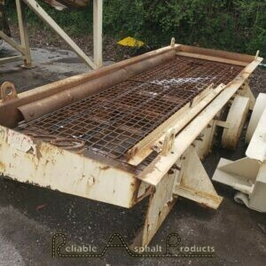 Deister 4'x10' Single Deck Screen