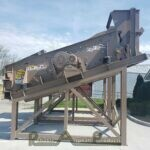 """NEW Deister 5""""x12′ Double Deck Screen Reliable Asphalt Products (2)"""
