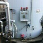 Meeker 20,000-gallon Vertical Fuel Tank Reliable Asphalt Products (2)