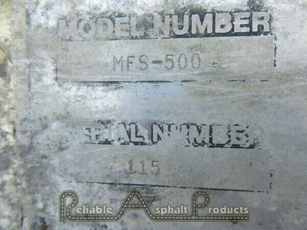 CMI Portable 500 BBL Mineral Filler Silo